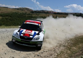 When Andreas Mikkelsen won Sibiu Rally