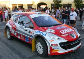 When Marco Tempestini won Sibiu Rally