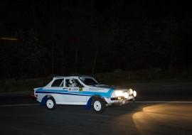 Classic cars race on Transfăgărăşan