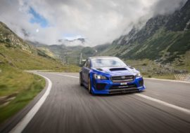 Attack Time: Subaru Makes a Record in Romania on 'The Best Road in the World'
