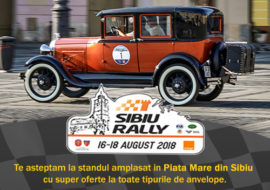 E-Pneu la Sibiu Rally Romania 2018