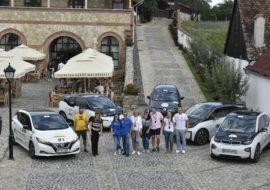5 echipaje electrice au concurat la Sibiu Rally Romania 2019